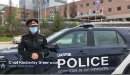 Continue reading: COVID-19: Barrie Police warn of fines ahead of weekend protest in Sadlon Arena parking lot