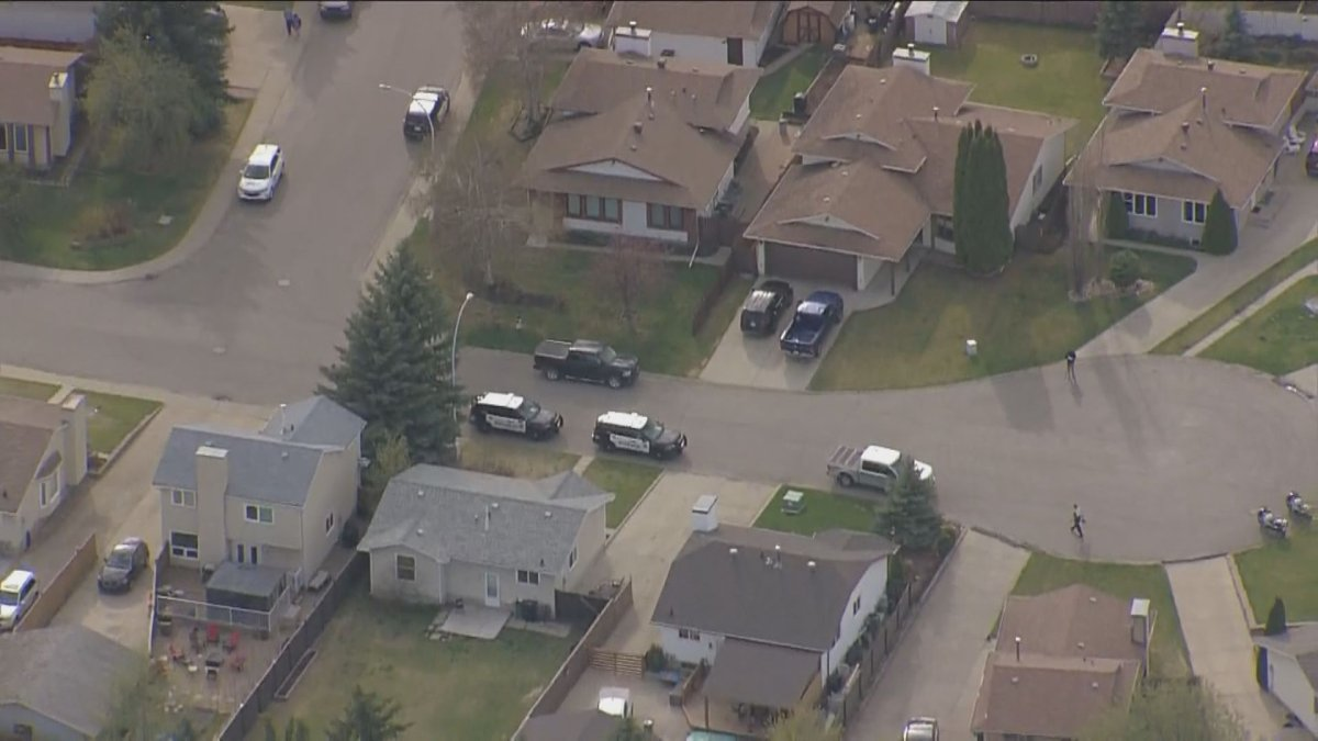 Edmonton police are investigating after a woman standing in a driveway was killed by a vehicle backing out in the area of 146 Avenue and 29 Street Wednesday, May 12, 2021.