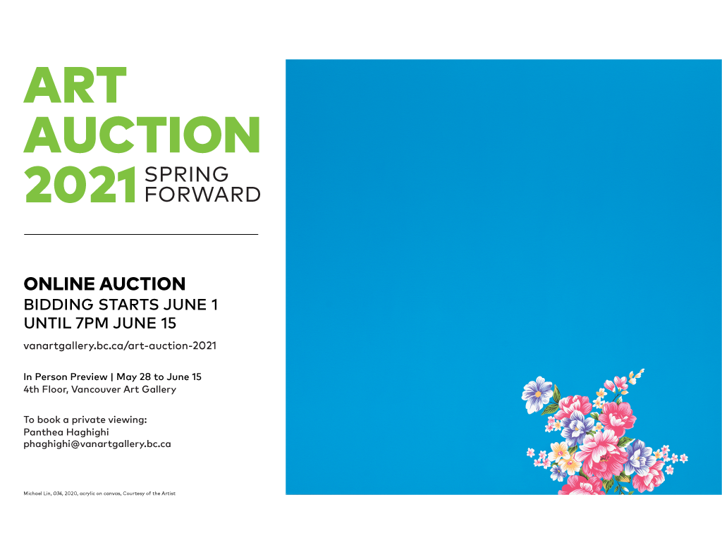 Global BC & 980 CKNW supports Vancouver Art Gallery Art Auction | Spring Forward - image