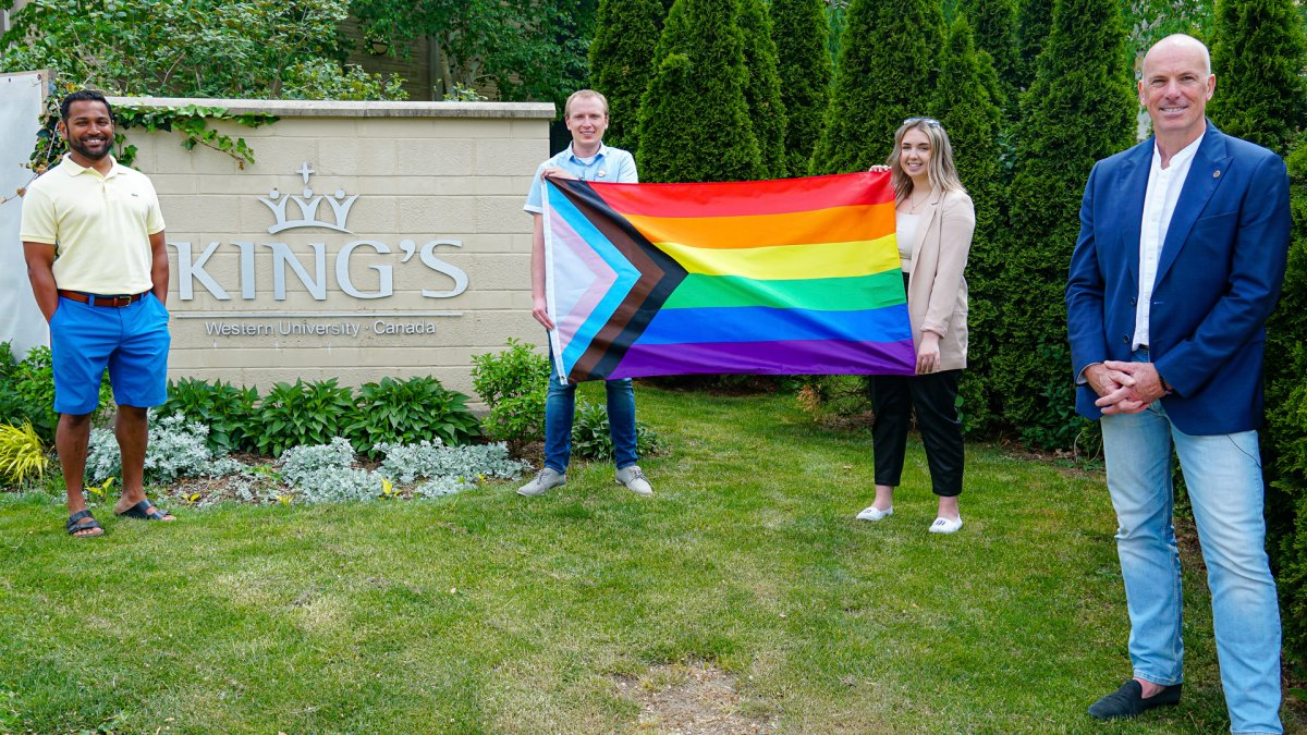 King's University College will raise the ProgressPrideflagon June 1to coincide with the start ofPride month..