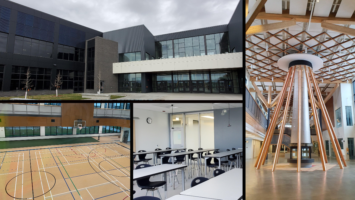 Dr. Anne Anderson School and Community Centre in southwest Edmonton's Heritage Valley area.