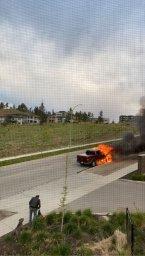 Continue reading: Early morning truck fire near UBC Okanagan