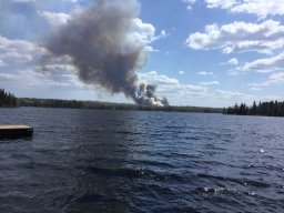Continue reading: Crews battle wildfire in Manitoba's Whiteshell
