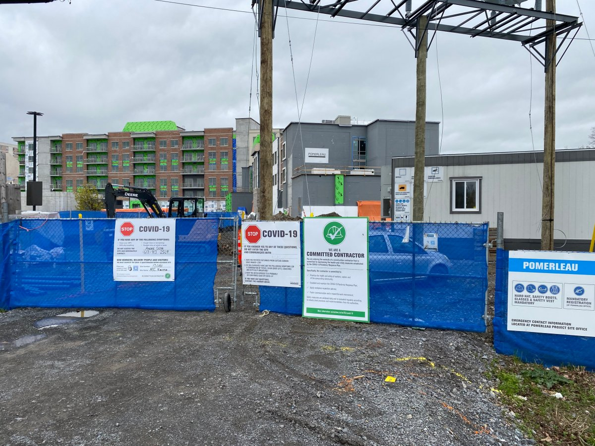 KFL&A Public Health say there are now a total of 61 cases linked to a COVID-19 outbreak at a Kingston construction site.