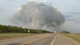 Continue reading: Lightning strike cause of Cloverdale wildfire near Prince Albert, Sask.