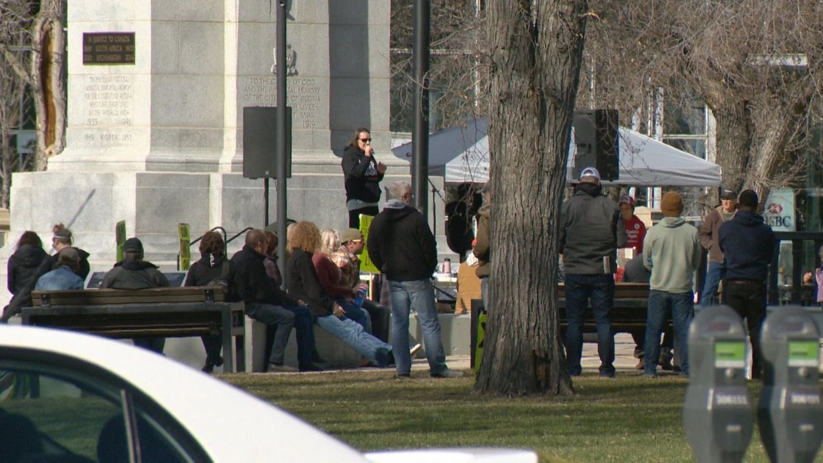 Regina police have issued more than 50 tickets in relation to anti-mask protests. That number could grow, as officers continue to work with the public to identify more protesters.