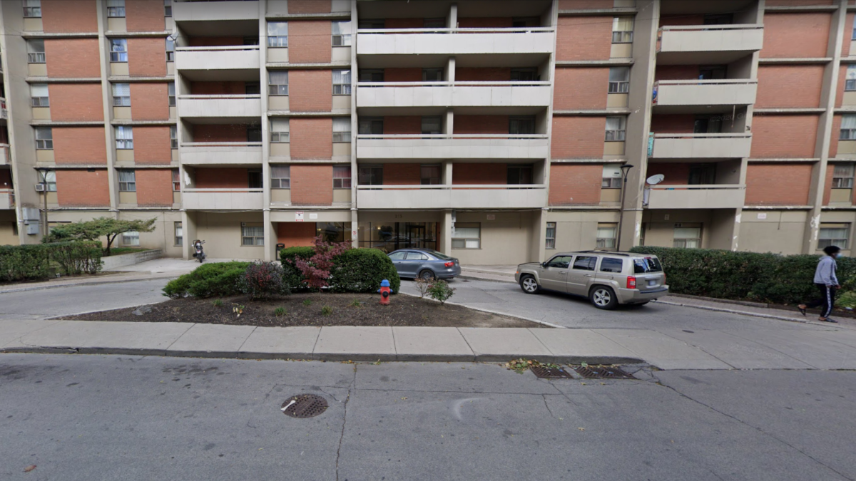 Rebecca Towers, a 164 unit 17-storey apartment building, was the scene of a major COVID-19 outbreak this spring.