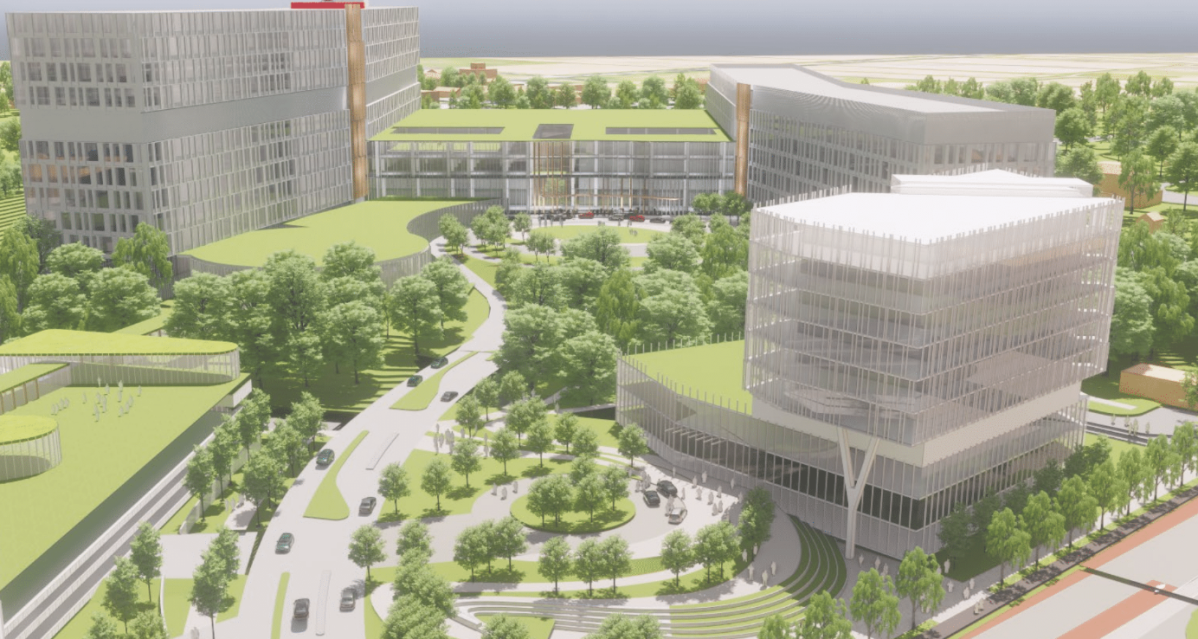 The Ottawa Hospital provided a first glimpse Tuesday morning at proposed designs for its $2.8-billion new Civic campus.