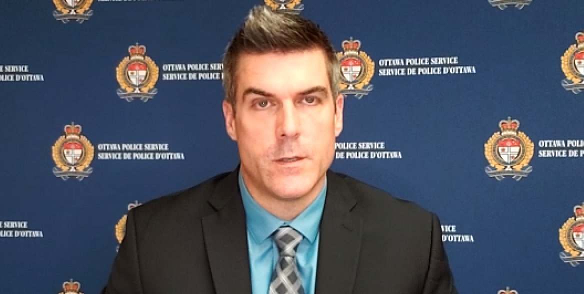 OPS Staff Sgt. Martin Groulx told reporters Monday that a Quebec woman allegedly abducted a newborn from an Ottawa family after interacting with his mother on a Facebook group for new moms.