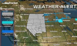 Continue reading: Weather advisory issued for central, northern Alberta as rain, snow could affect travel Tuesday night