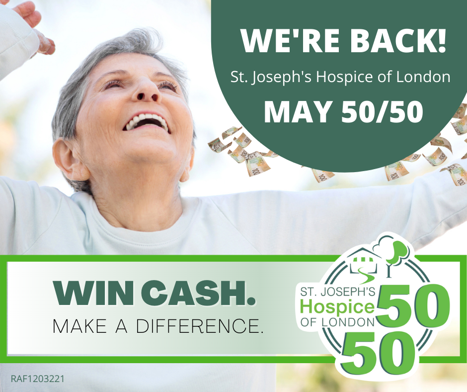 St. Joseph's Hospice of London 50/50 Lottery - image