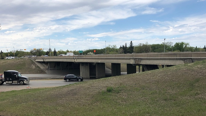 The City of Regina has kicked off a two-year major construction project on the Winnipeg Street North overpass to replace the current structure.
