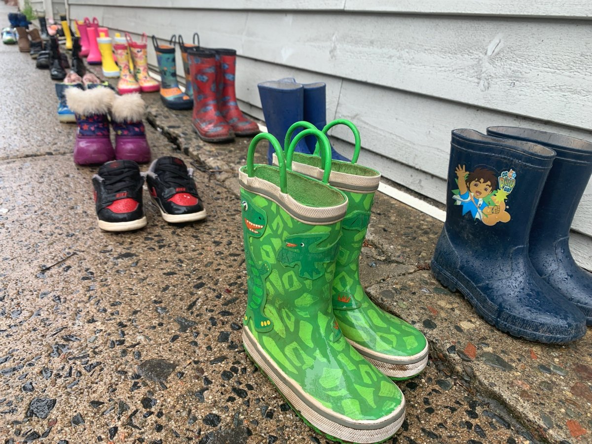 Shoe tributes have been one way Canadians have been honouring the 215 Indigenous children, whose remains have recently been found at a Kamloops residential school.