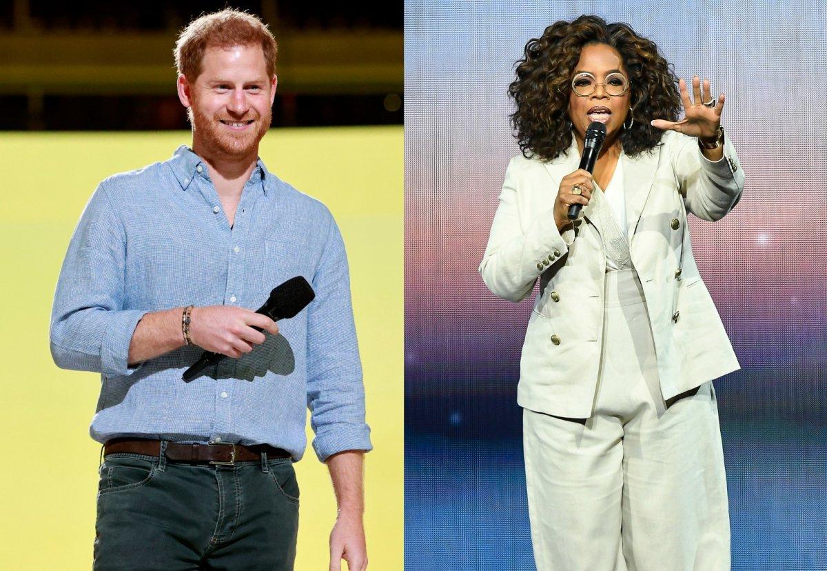 Prince Harry, Oprah Winfrey.