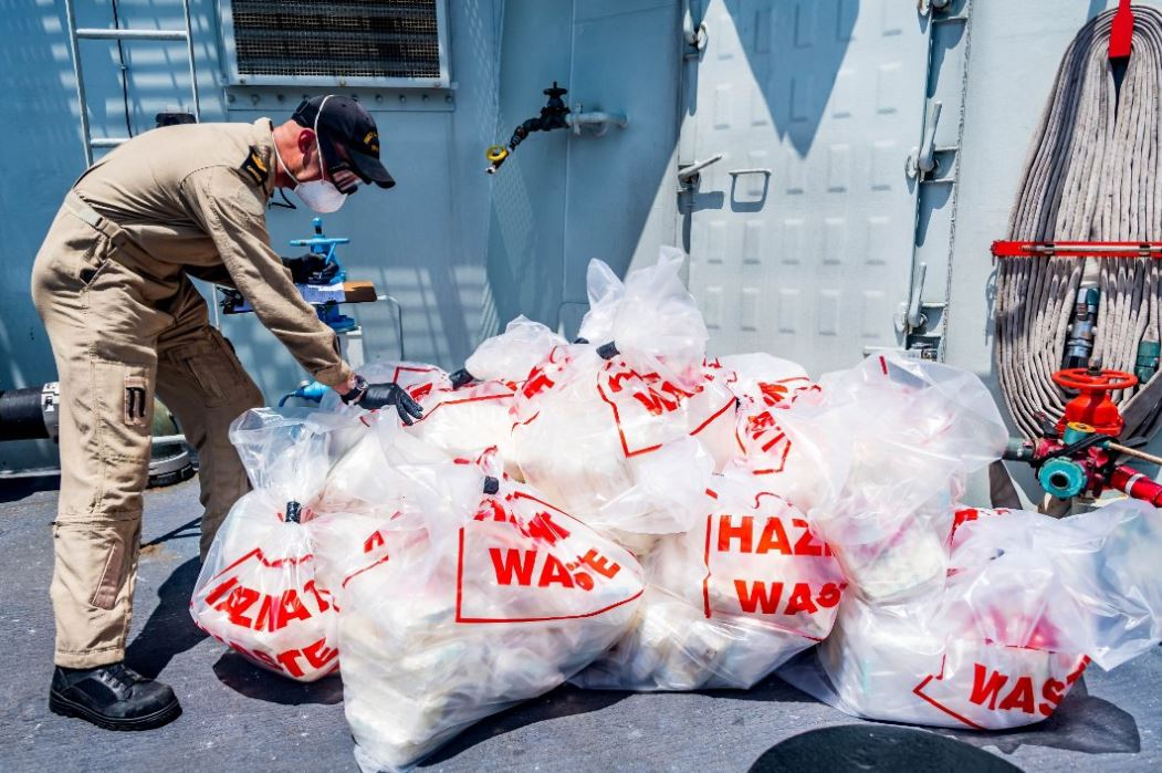 HMCS Calgary made a record drug bust in the Arabian Sea.