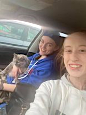 Jay Strickland and his partner, Megan Brannen, had to sleep in their car for two days because they couldn't cross the Nova Scotia border.