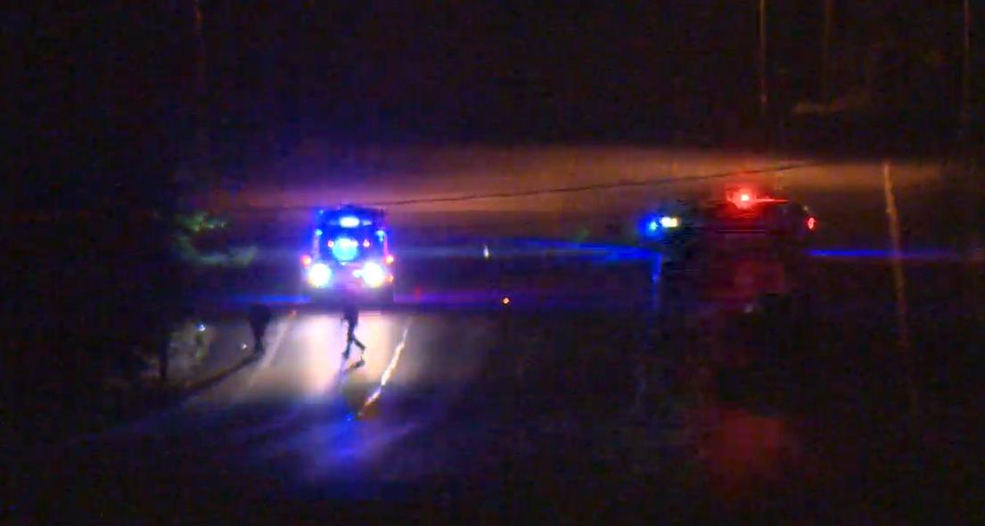Police investigate a serious collision in Maple Ridge.