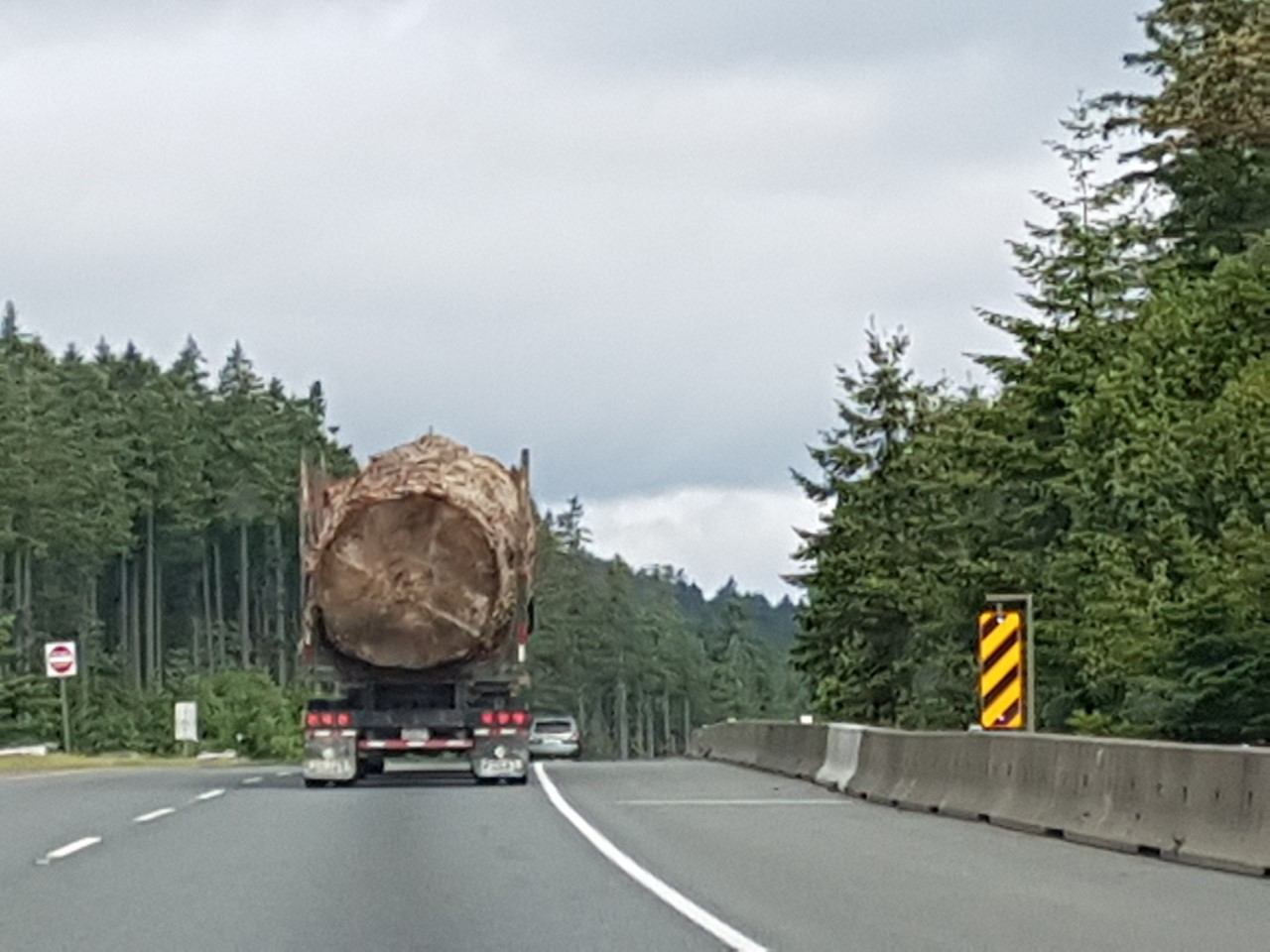 Lorna Beecroft took this photo on Tuesday morning on the Nanaimo Parkway on Vancouver Island.