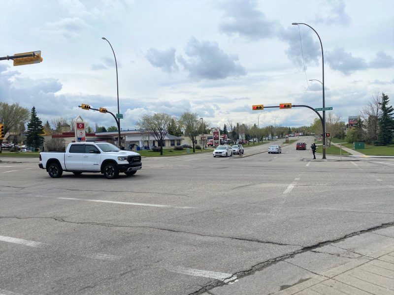 Calgary police are hoping to speak with anyone who witnessed a crash on Monday, May 24 at the intersection of Canyon Meadows Drive and Deer Ridge Drive S.E.