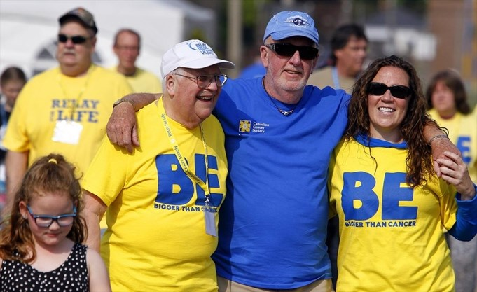 Canadian Cancer Society Relay For Life - image