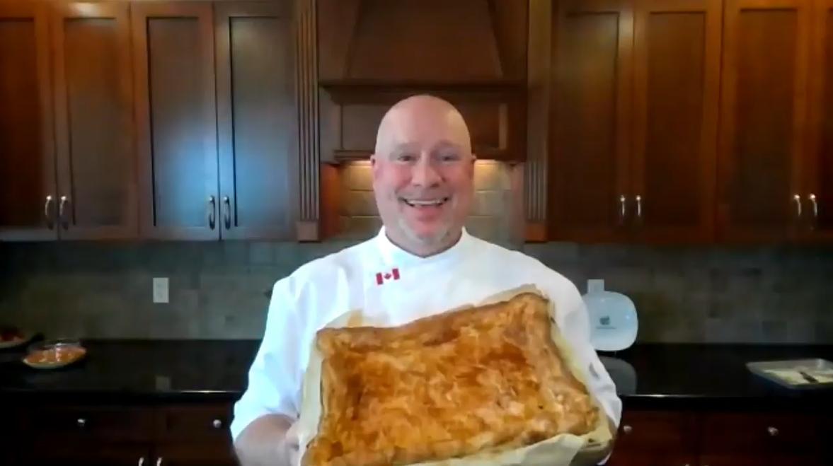 Recipe: Home-style salmon pie - image