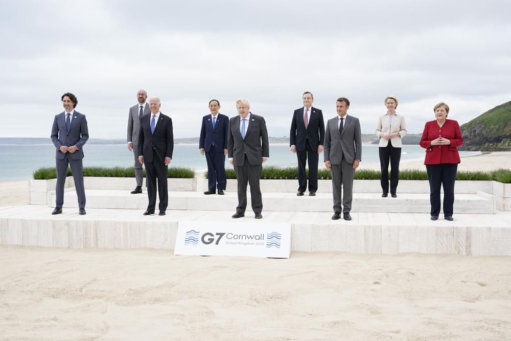 Trudeau discusses detained Michaels, foreign policy with G7 leaders on 2nd day of summit