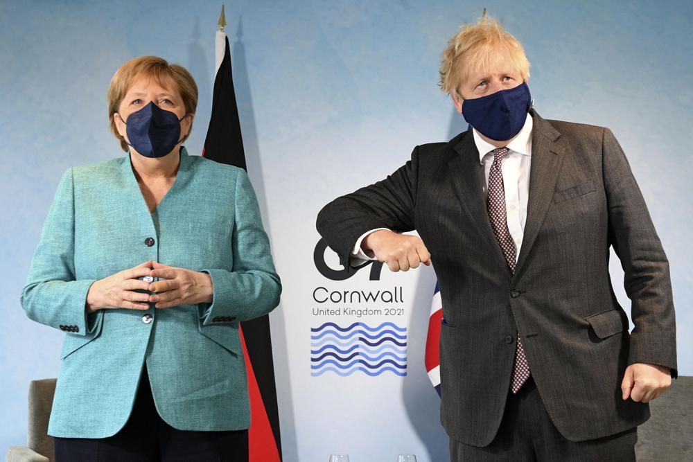 European Union, U.K. Brexit spat over Northern Ireland clouds G7 summit