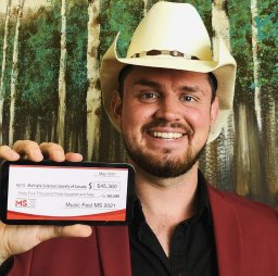 Continue reading: West Kelowna country musician raises $45K for Multiple Sclerosis in one day