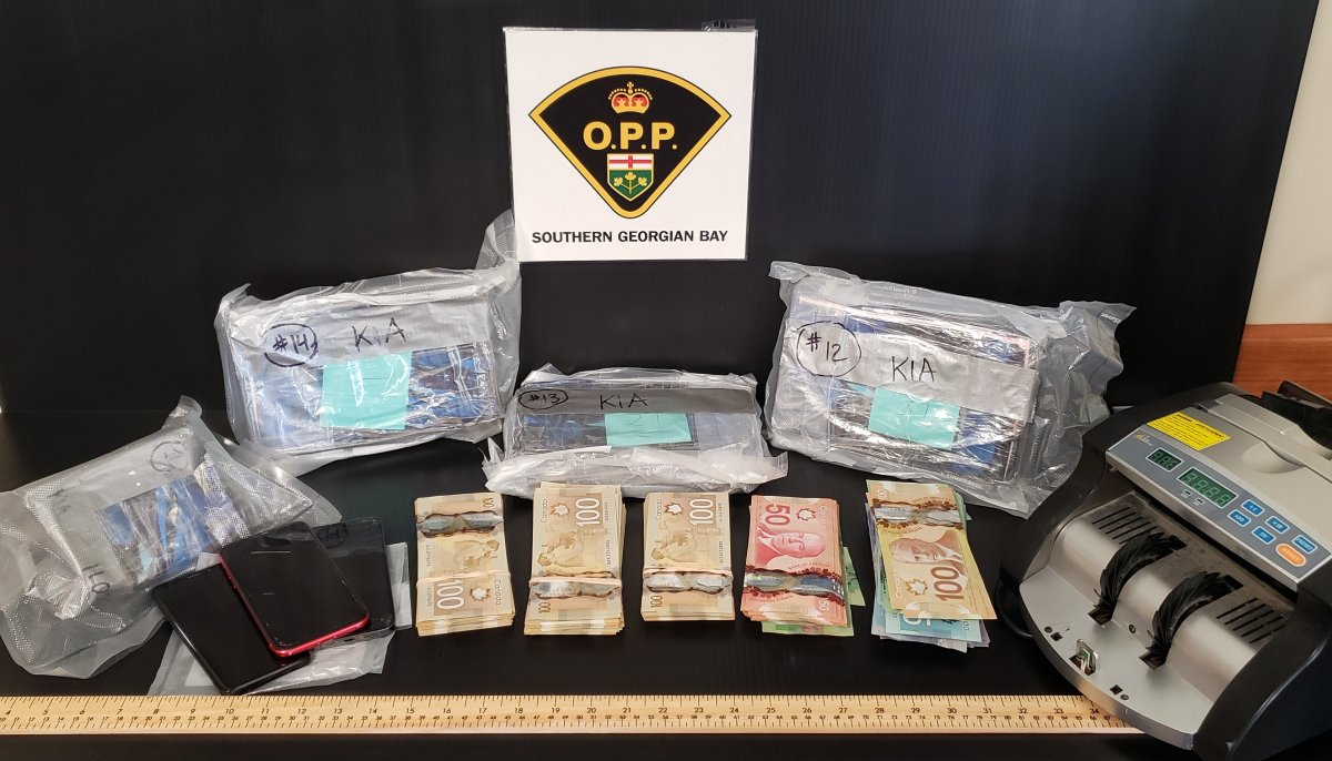 As part of the investigation, officers also seized a cash money counter, cellphones and drug paraphernalia.