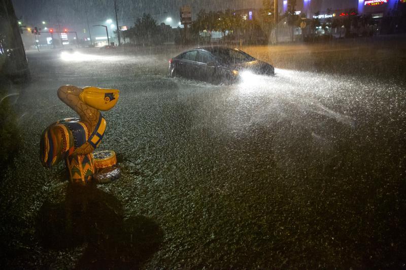 Tropical Storm Claudette brings heavy rain, flooding to Gulf Coast