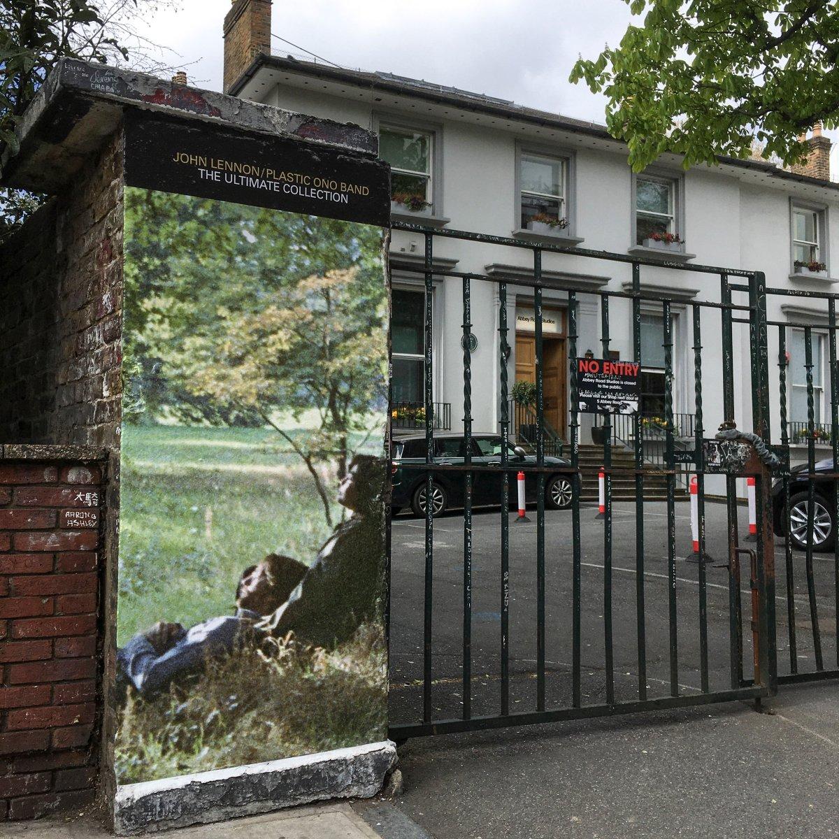 Abbey Road Studios in London in April 2021.