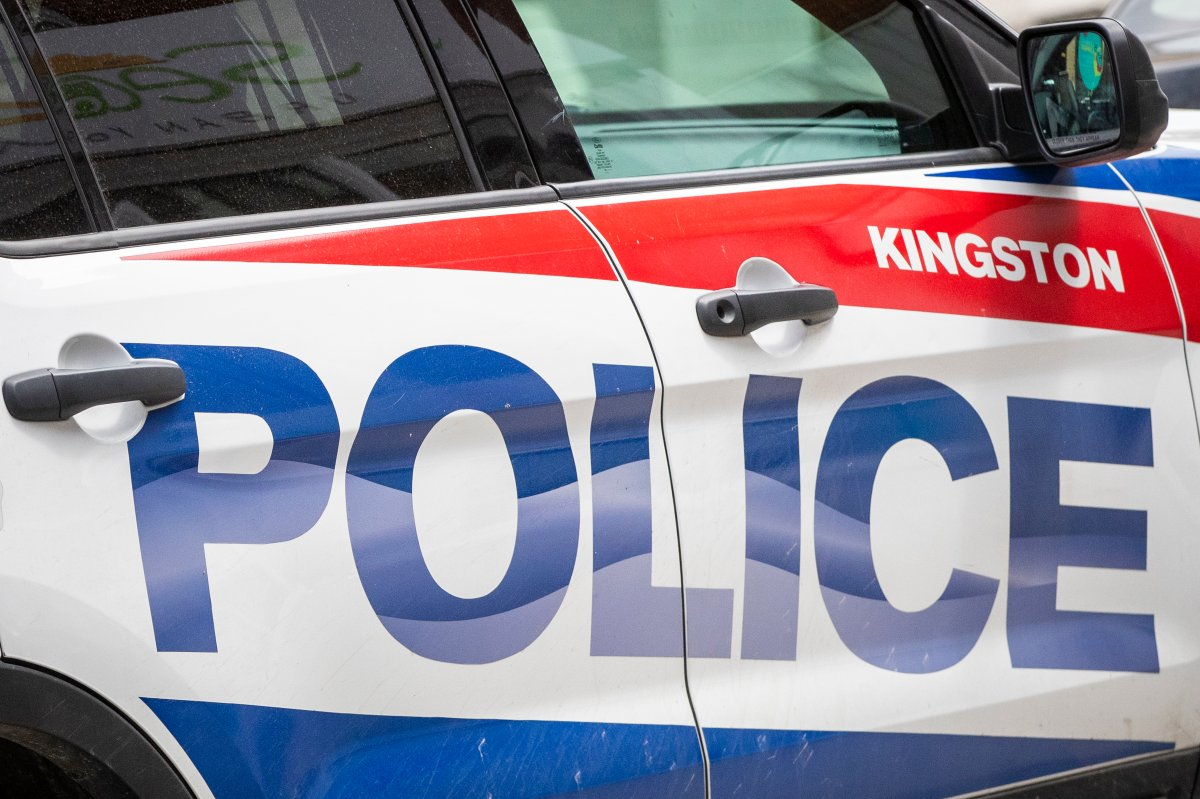 """A Kingston Police service dog located a man who allegedly fled from police during a traffic stop. Police say """"Dak,"""" apart of the Canine Unit found the 31-year-old Gananoque man shortly after he abandoned his vehicle."""