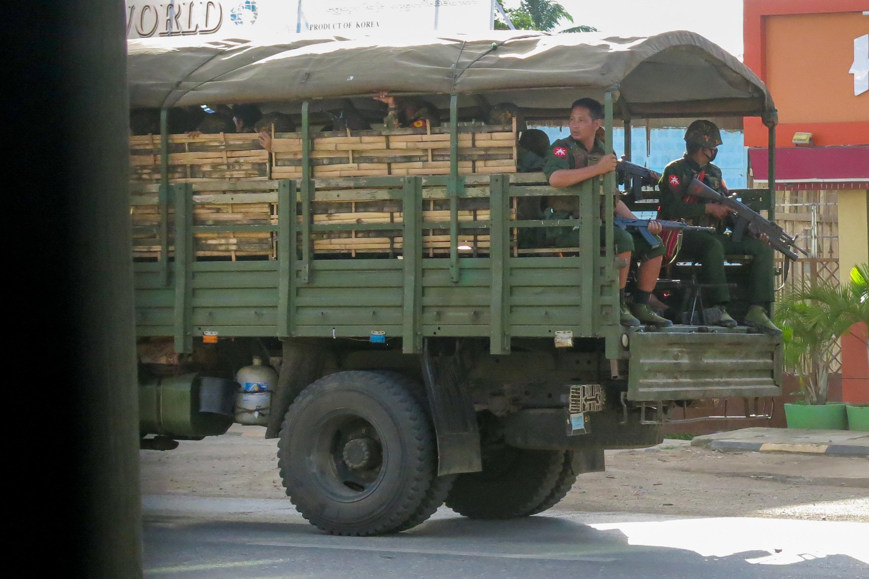 Facebook amplified Myanmar junta propaganda following coup, rights group says