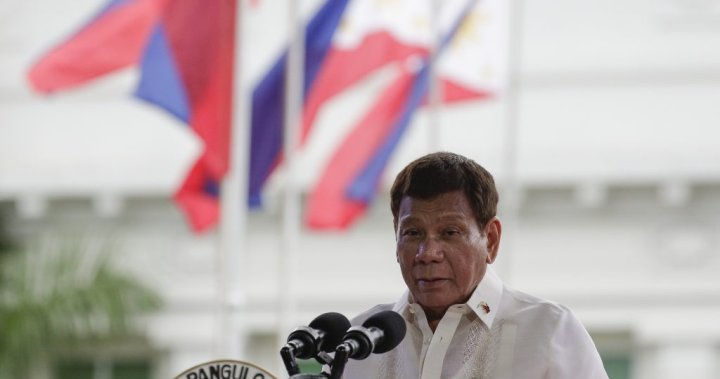Philippines' Duterte says he won't cooperate with ICC probe into drug war killings