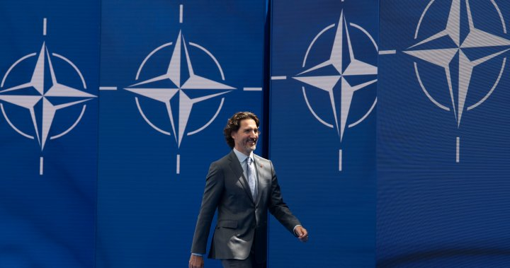 Trudeau in Brussels for NATO meeting, says alliance is more united than ever