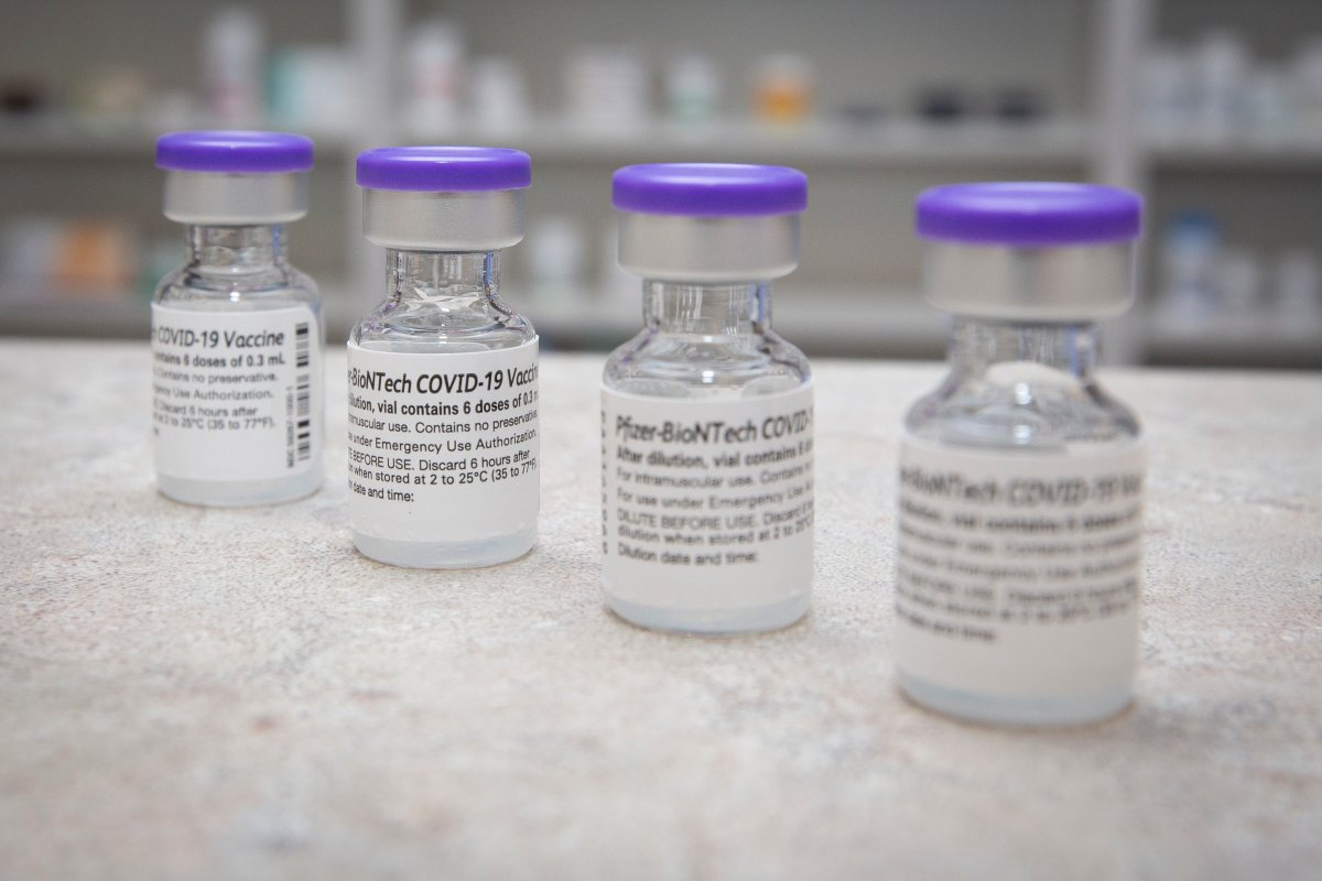 As of July 22, 2021, 61.7 per cent of New Brunswickers aged 12 and older are fully vaccinated and 81 per cent have received their first dose of a COVID-19 vaccine.