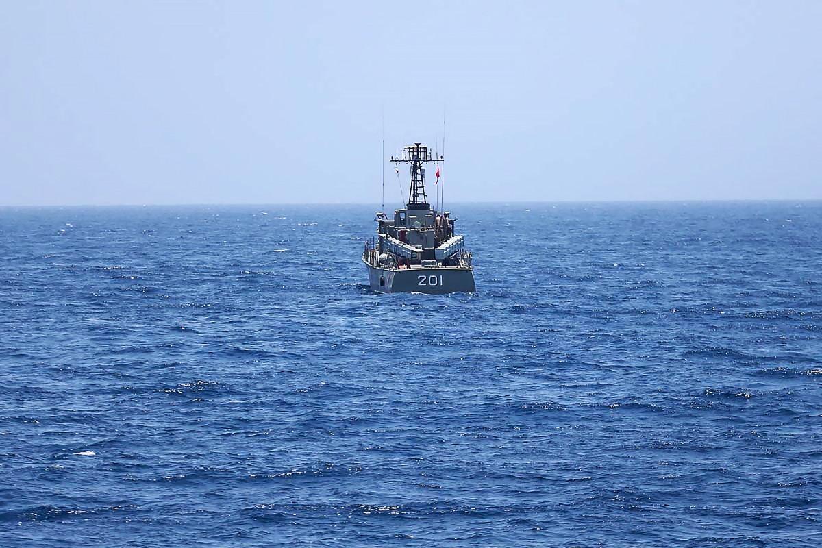 FILE -- Gulf of Oman, Iran, June 18, 2020. Photo by SalamPix/ABACAPRESS.COM.