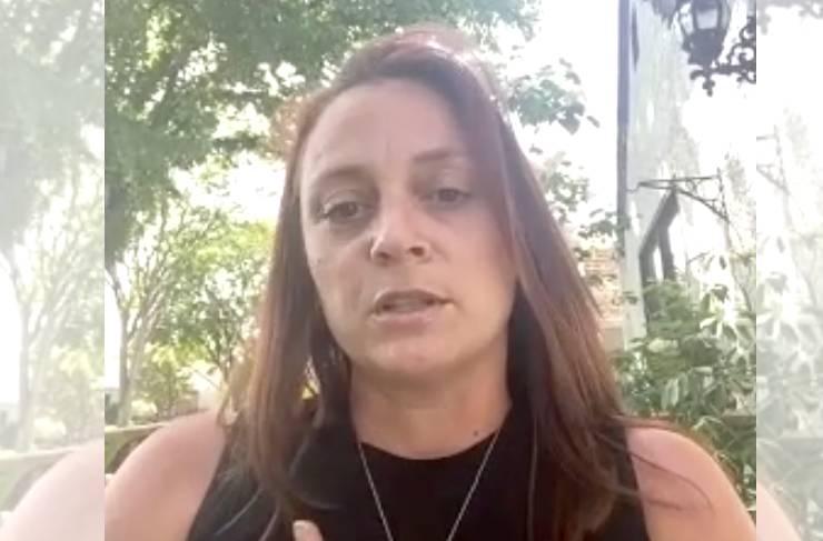Kristin Gebhardt says she left nursing when it became overwhelming.