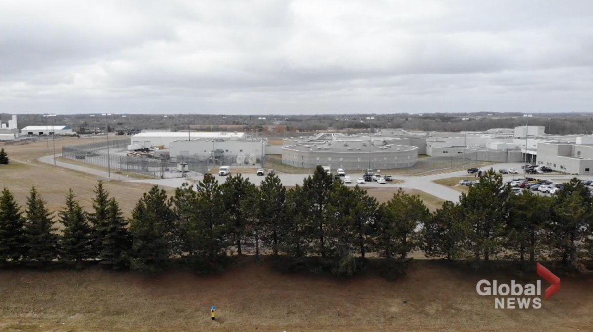 The province reports no active cases as of COVID-19 as of Sunday at the Central East Correctional Centre in Lindsay. An outbreak was declared in mid-May.