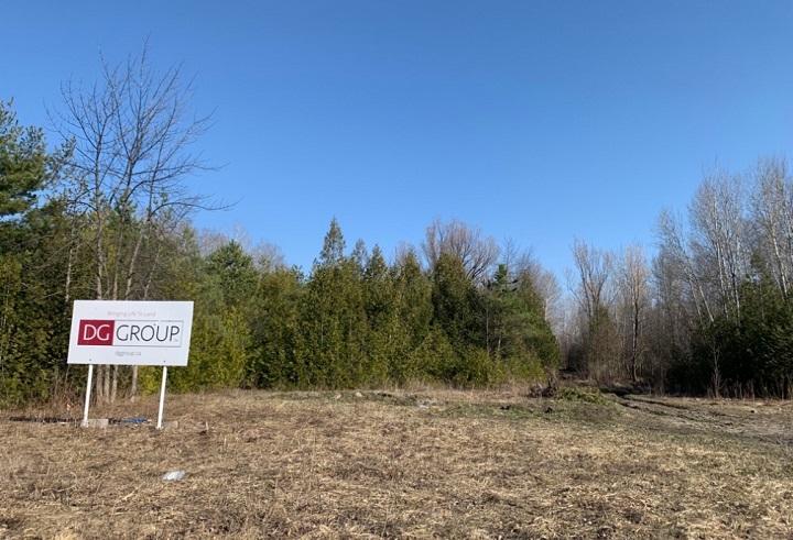The former Maple Leaf Estates property near Woodbine Avenue and Metro Road North in Georgina.