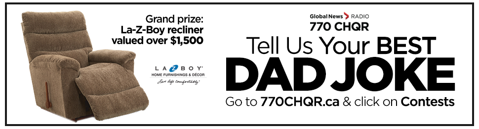 CHQR Father's Day contest