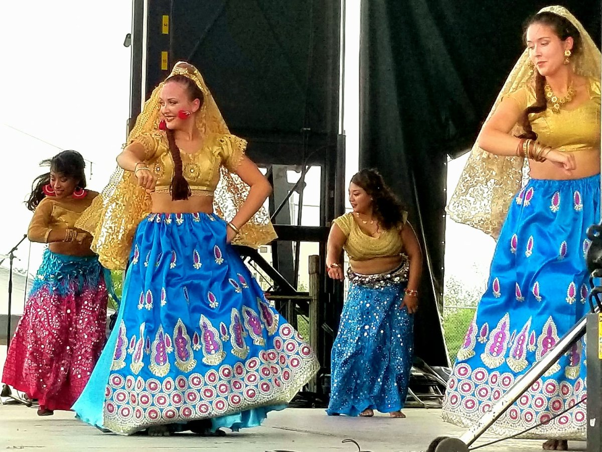 Dancers perform at the 2018 Guelph and District Multicultural Festival.