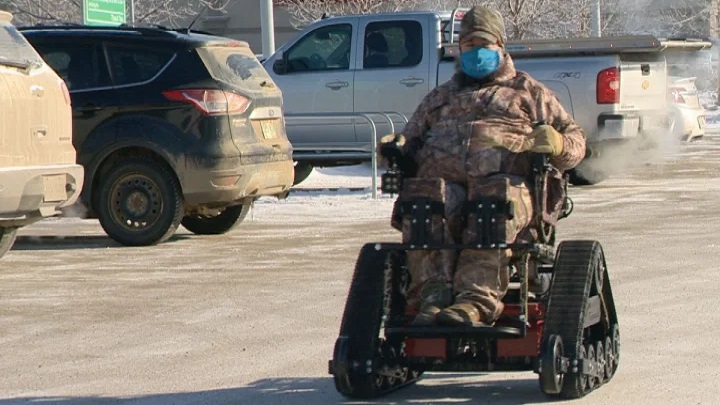 Bobbie Cherepuschak has long been advocating for the Saskatchewan government to improve hunting regulations for those with mobility issues.
