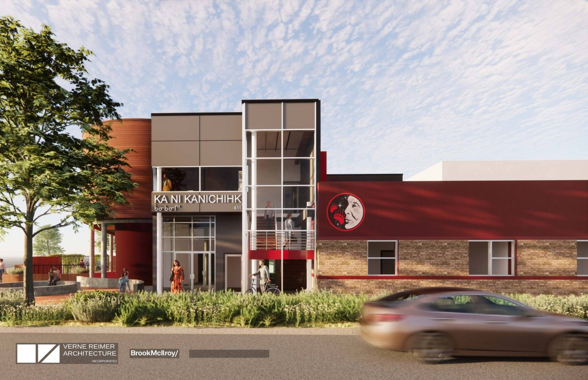 Ka-Ni-Kanichihk new building images announced June 24 2021.