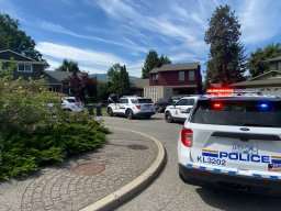 Continue reading: Kelowna RCMP swarm Lower Mission home in suspected drug raid