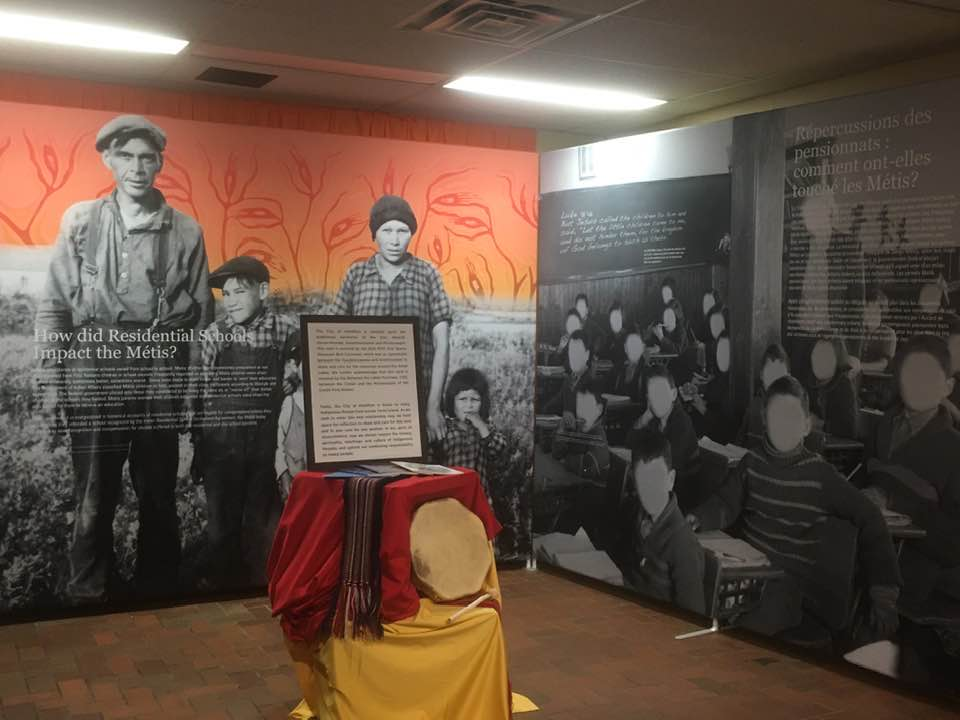 The Legacy of Hope Foundation exhibits aim to increase public awareness about challenges facing Indigenous peoples, including the history and impacts of the residential school system.
