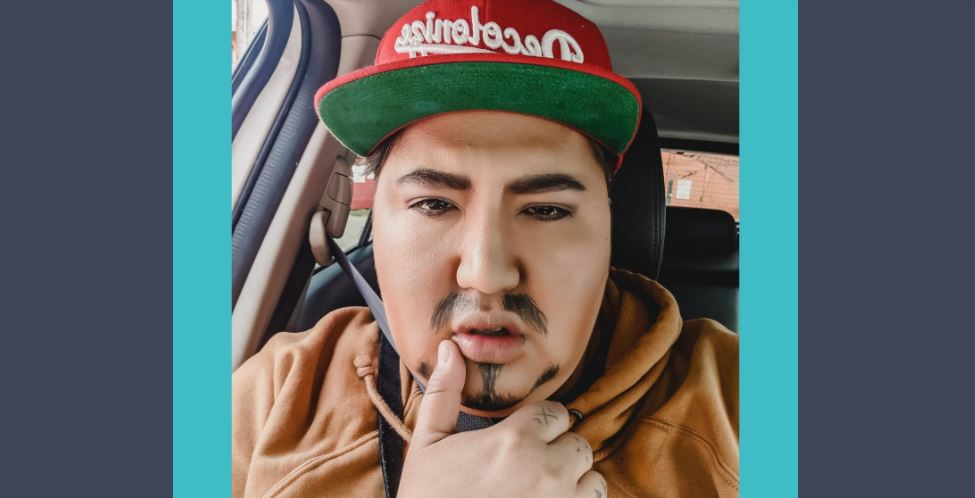 Madeline Terbasket, aka Rez Daddy, is a Syilx, Ho-chunk and Anishinaabe performer who uses burlesque and drag to safely express their sexuality as a Two-Spirit person.