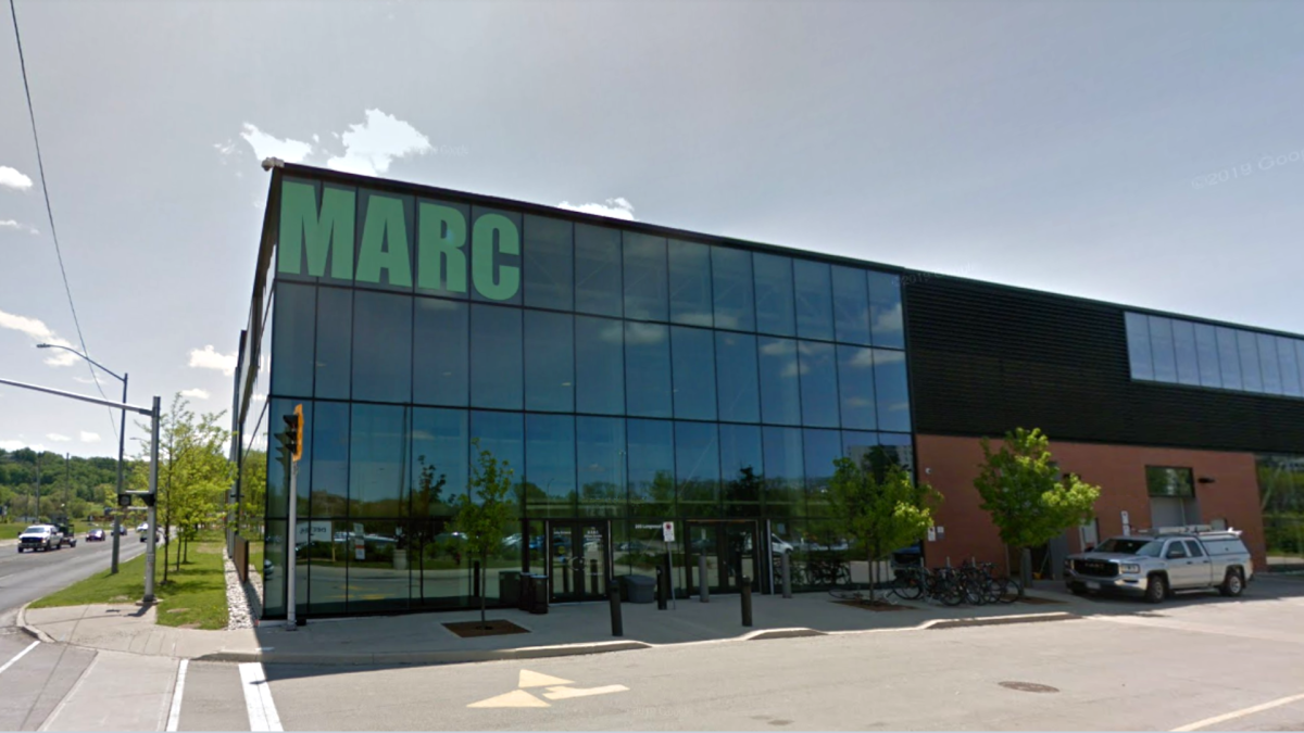 McMaster Automotive Resource Centre (MARC) on Longwood Road South in Hamilton, Ont.