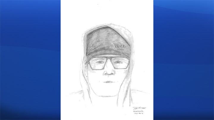 Police are hoping to identify a man who ran into a woman's home in northeast Calgary in the middle of the night.