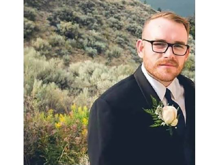 According to RCMP, Jesse Faulkenham of Grande Prairie may have been heading to Penticton, where he has family connections.